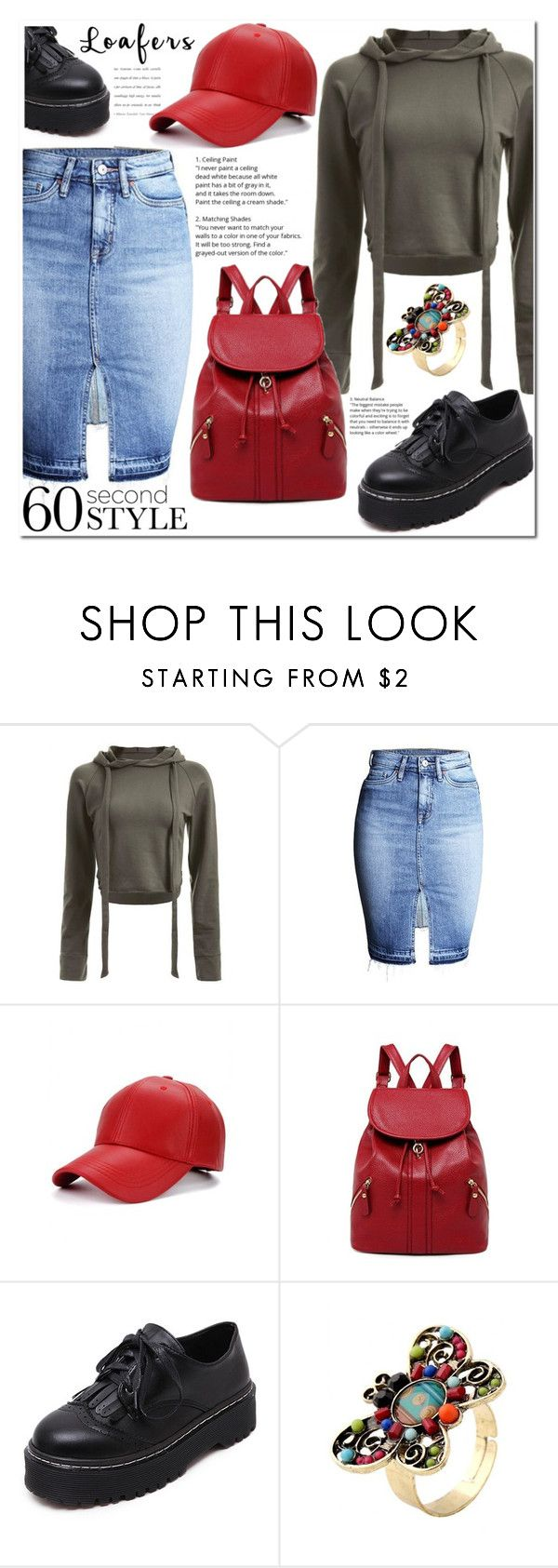 """""""Loafers"""" by jecakns ❤ liked on Polyvore featuring WithChic"""