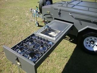 camper trailer CAMPER TRAILER 4x4 OFF ROAD 4WD hard floor for sale ...