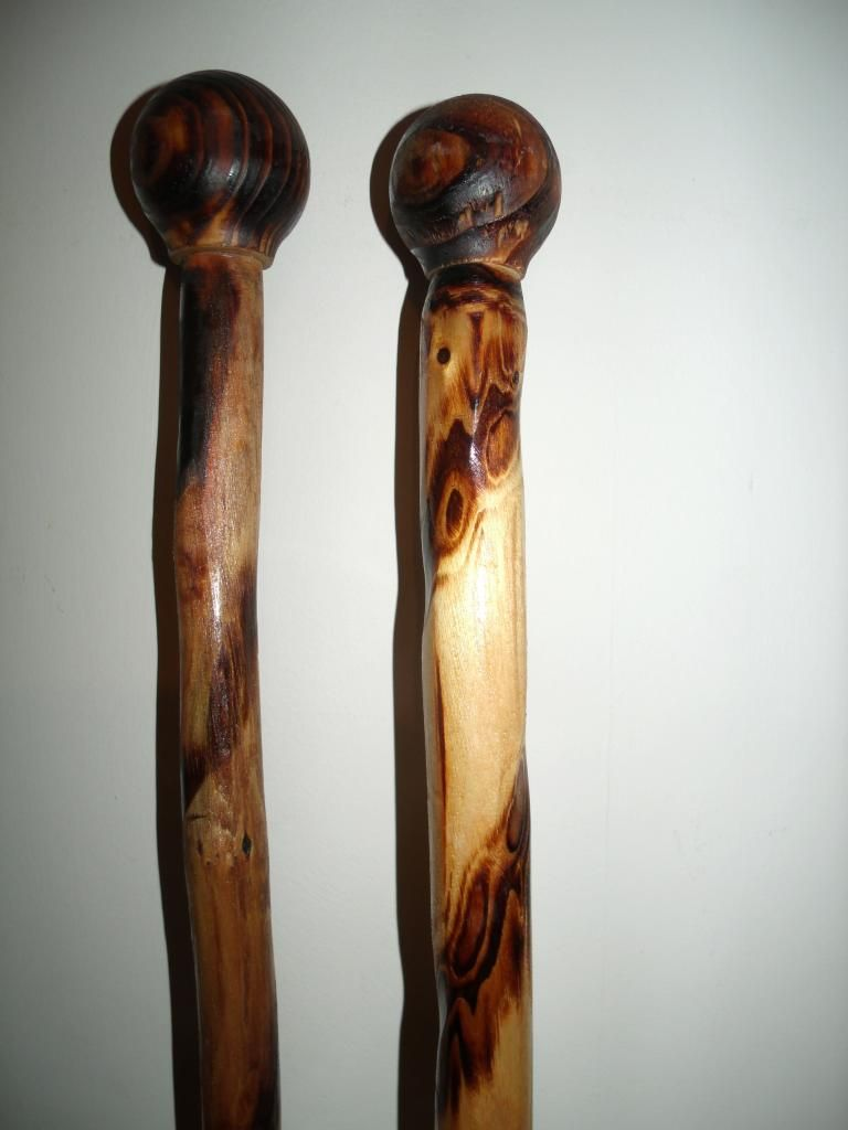 Wooden Cane Designs 2 wooden walkin...