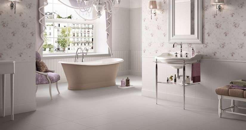Bagno Stile Romantico : Bagno in stile romantico i colori e gli arredi che non devono