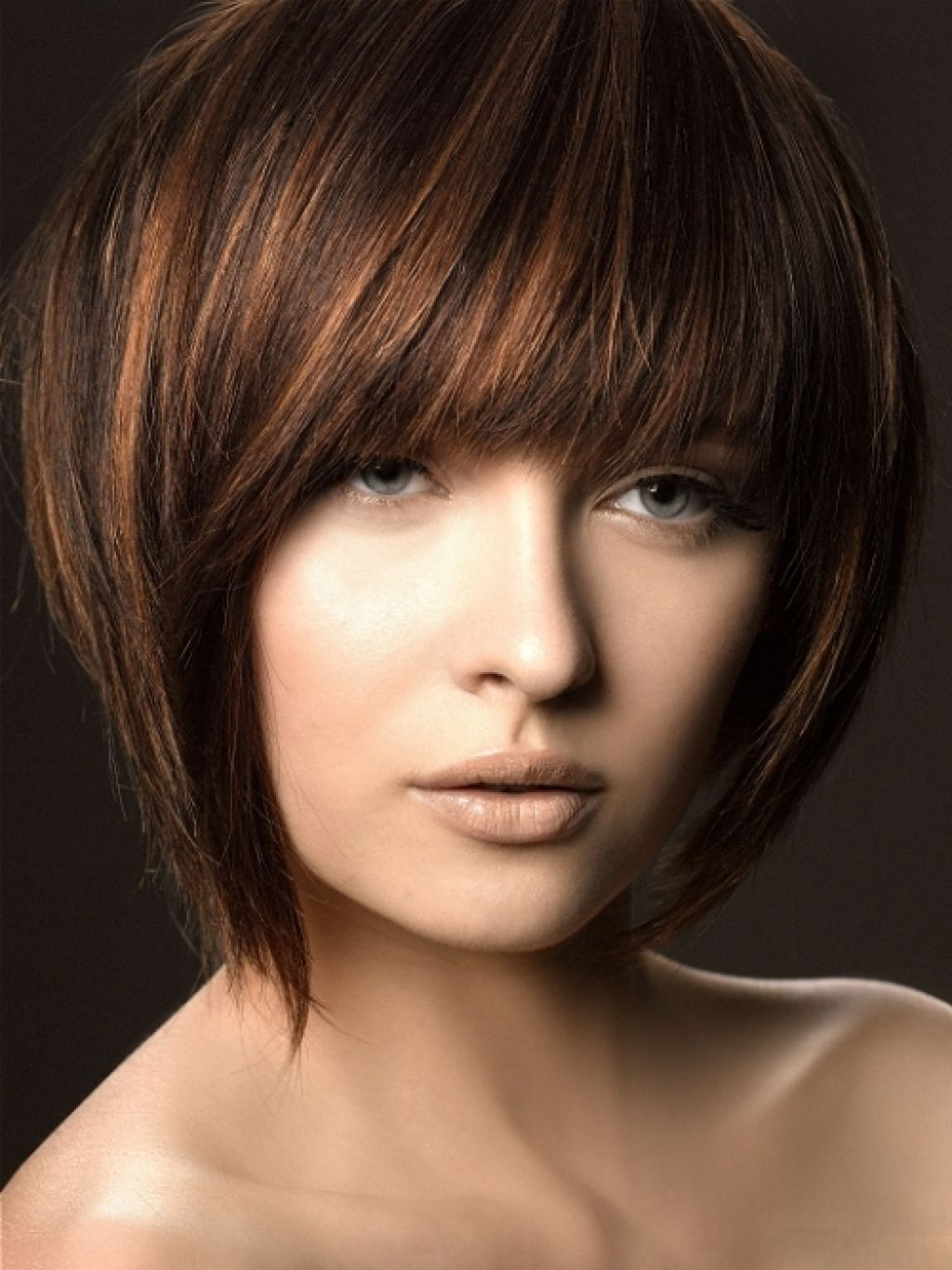 Light Brown Hair Colors With Highlights Women Medium Haircuts