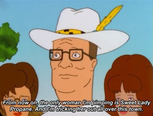 Propane Propane Accessories King Of The Hill Cartoon Memes