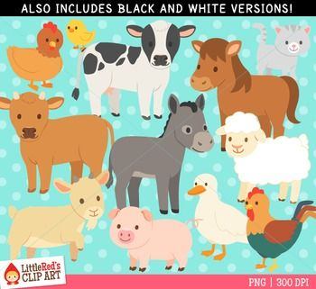 Clip Art Farm Animals Clipart Clip Art Animal Clipart Farm Animals
