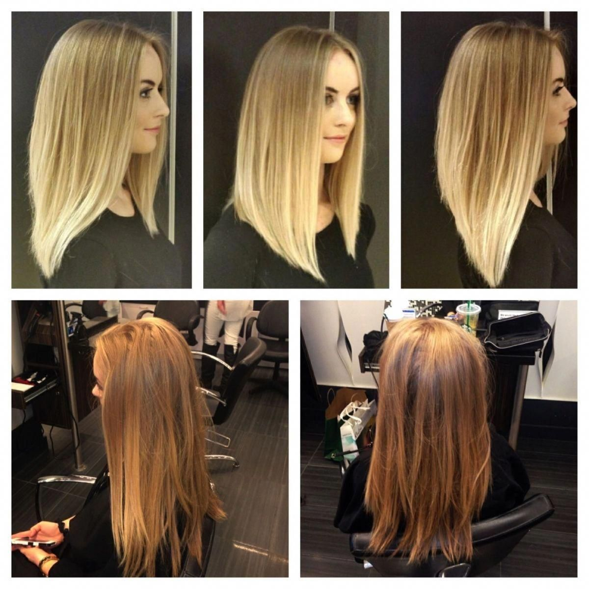 Image Result For Long Angled Bob Before And After Angledbob In 2020 Angled Hair Hair Styles Long Angled Bob