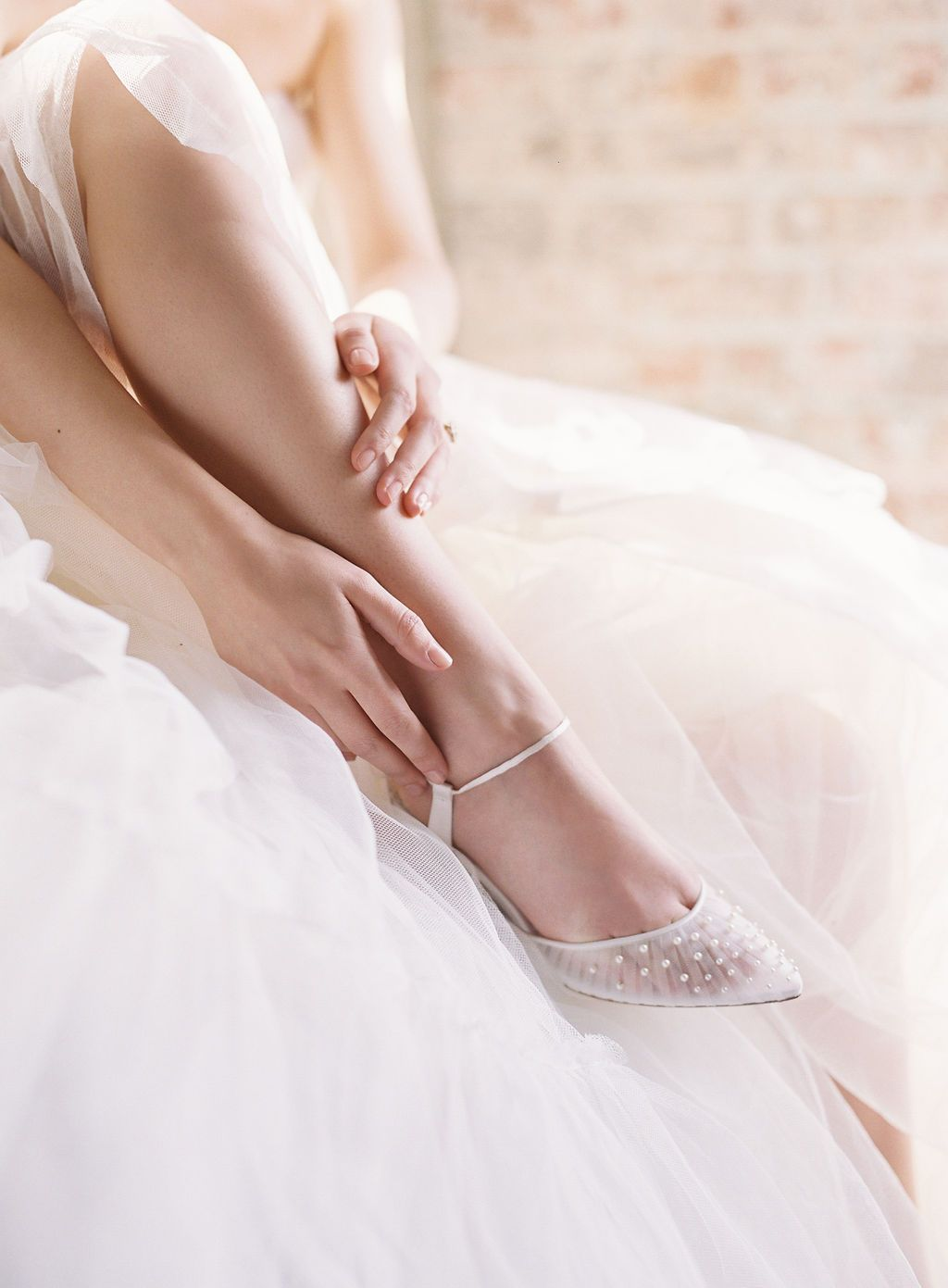 11+ Pearl wedding shoes low heel information