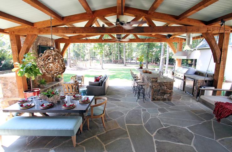 Metal Roof Patio Cover Designs Outdoor Pavillion Backyard