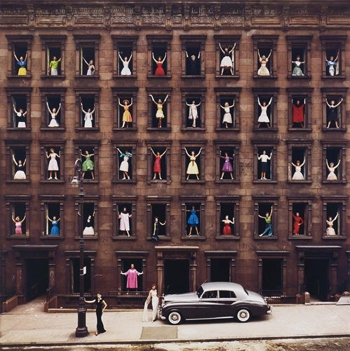 Girls in the Windows by Ormond Gigli on artnet Auctions