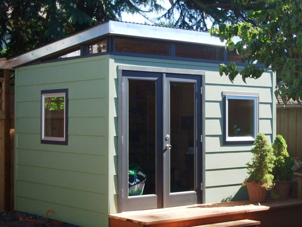 Small modern shed for Small modern shed
