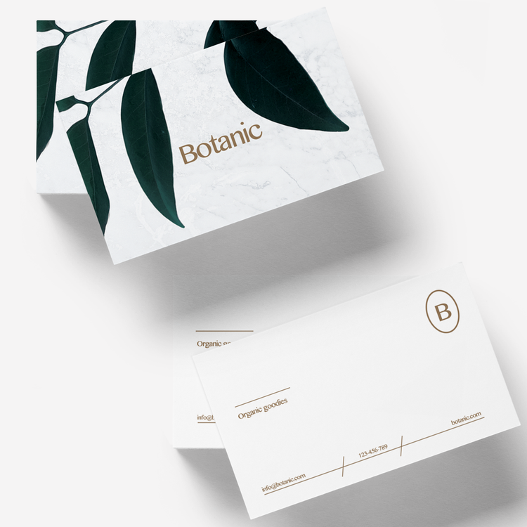BOTANIC — Business Card Template- by LOOLAA