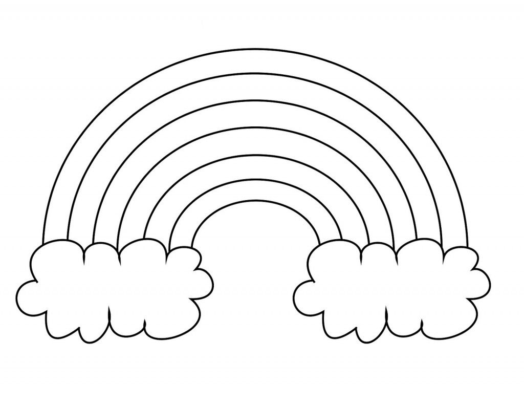Books about color for kids - Legged Rainbow Clouds Coloring Pages For Kids Printable Rainbows Coloring Pages For Kids