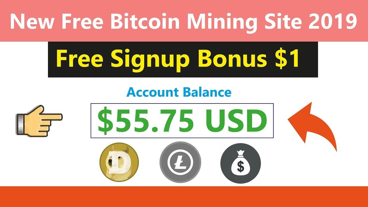 New Free Dogecoin Cloud Mining Site 2019 | Earn Free Usd