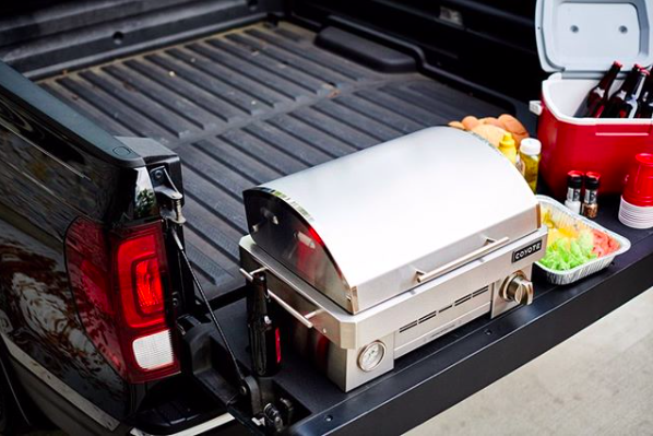 Home Coyote Outdoor Living Tailgate Accessories Portable Grill Grill Master