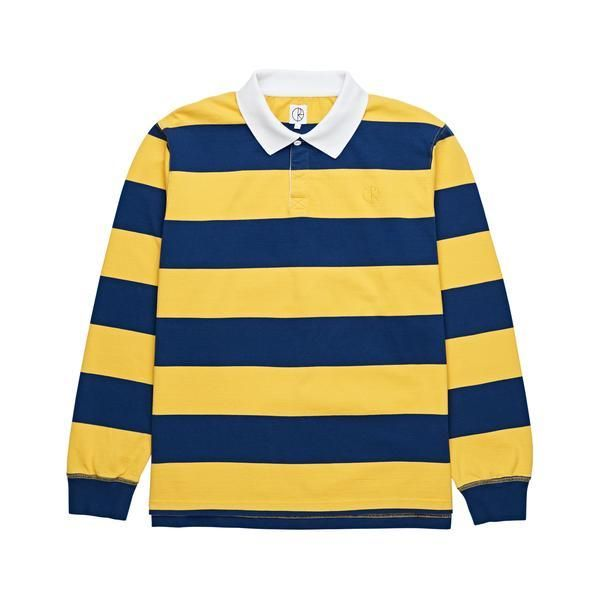 c3ead83cfb Polar Skate Co x Dear Block Stripe Polo Long Sleeve Tee | Products ...