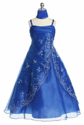 af9a277d43d9cd Royal Blue Beaded A-line Special Occasion Dress   Dresses   Dresses ...