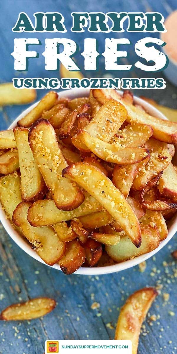 Air Fryer Frozen French Fries Recipe in 2020 Homemade