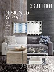 Z Gallerie - Designed by You - West Street Bed - Eastern King
