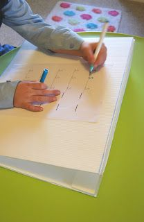 A Little Learning For Two: DIY : How To Make A Slant Board