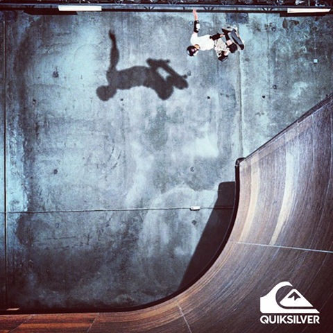 ¡Nosotros volamos de otra forma! #Skateboarding #Quiksilver #Colombia