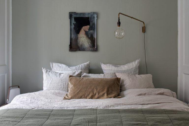 Harmonische Farben fürs Haus Grüne schlafzimmer