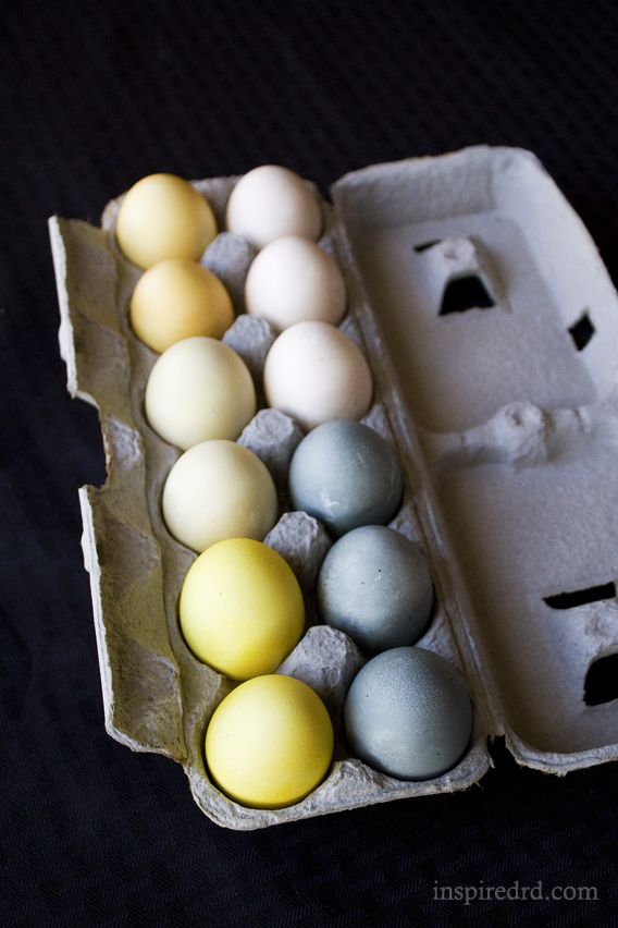 how to dye eggs with turmeric