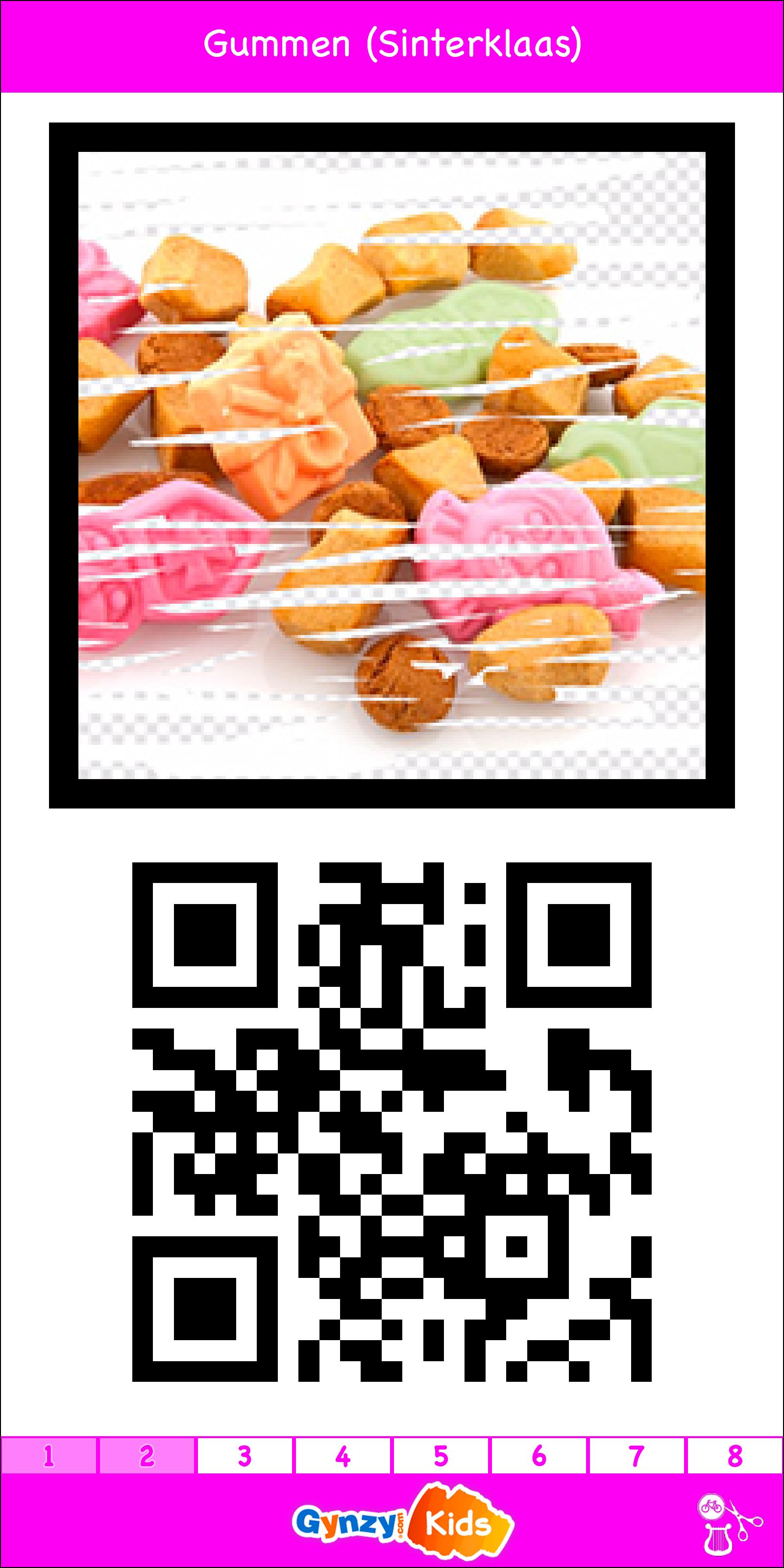 Kleurplaten Inkleuren Op Ipad.Gummen Thema Sinterklaas Qr Code Oefening Ipad App
