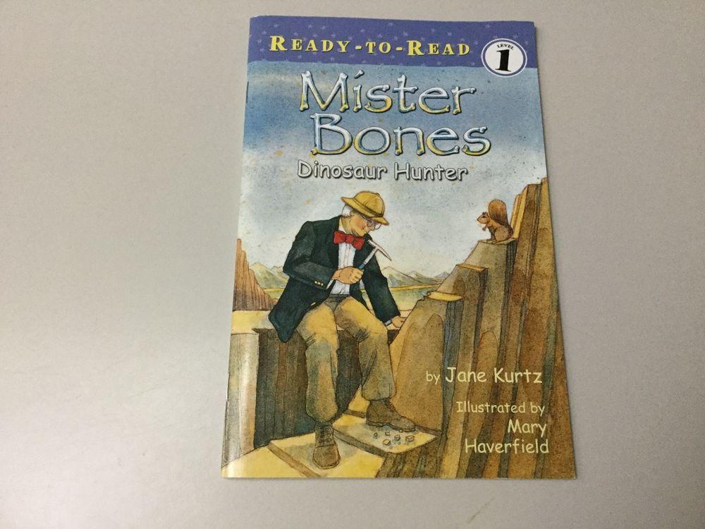 Mister bones ready to read 1 dinosaur hunter new ebay