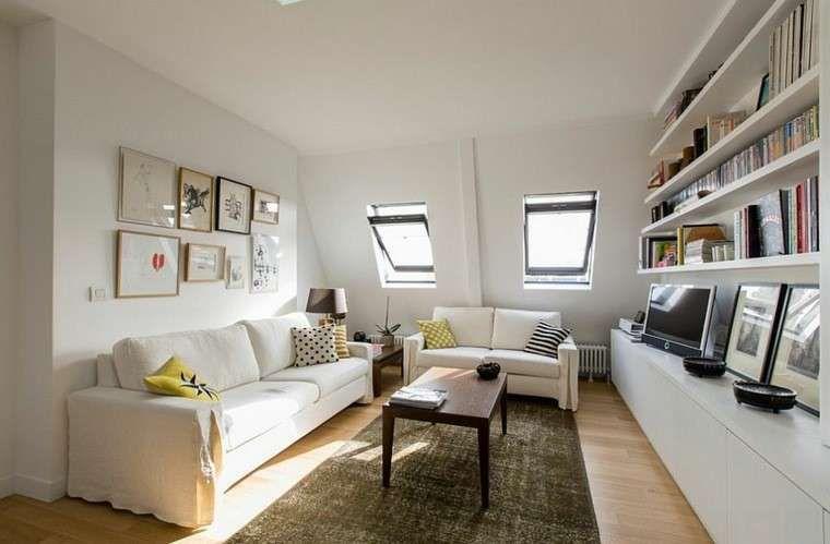 Soggiorno legno ~ Il soggiorno in stile scandinavo parquet in legno chiaro