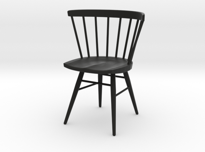 Nakashima Straight Backed Chair 6cm Tall Printed