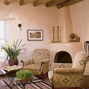 Image gallery interior adobe house for Cost to build adobe home