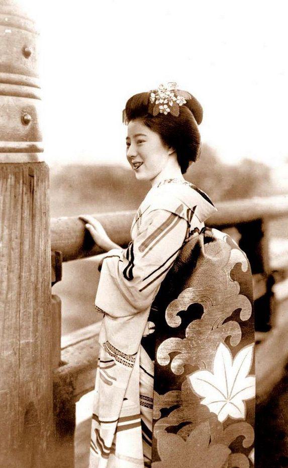 昔の日本の芸者の貴重なカラー写真(15枚)_China.org.cn | 日本美術