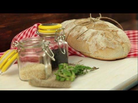 ¿Quieres una receta de pan rápida de hacer? ¡Este pan sin levado es tu solución! Sigue el paso a paso de este video de www.elgranchef.com