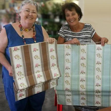 How To Make Roman Blind Workshop Diy Divas Bay Window Curtain