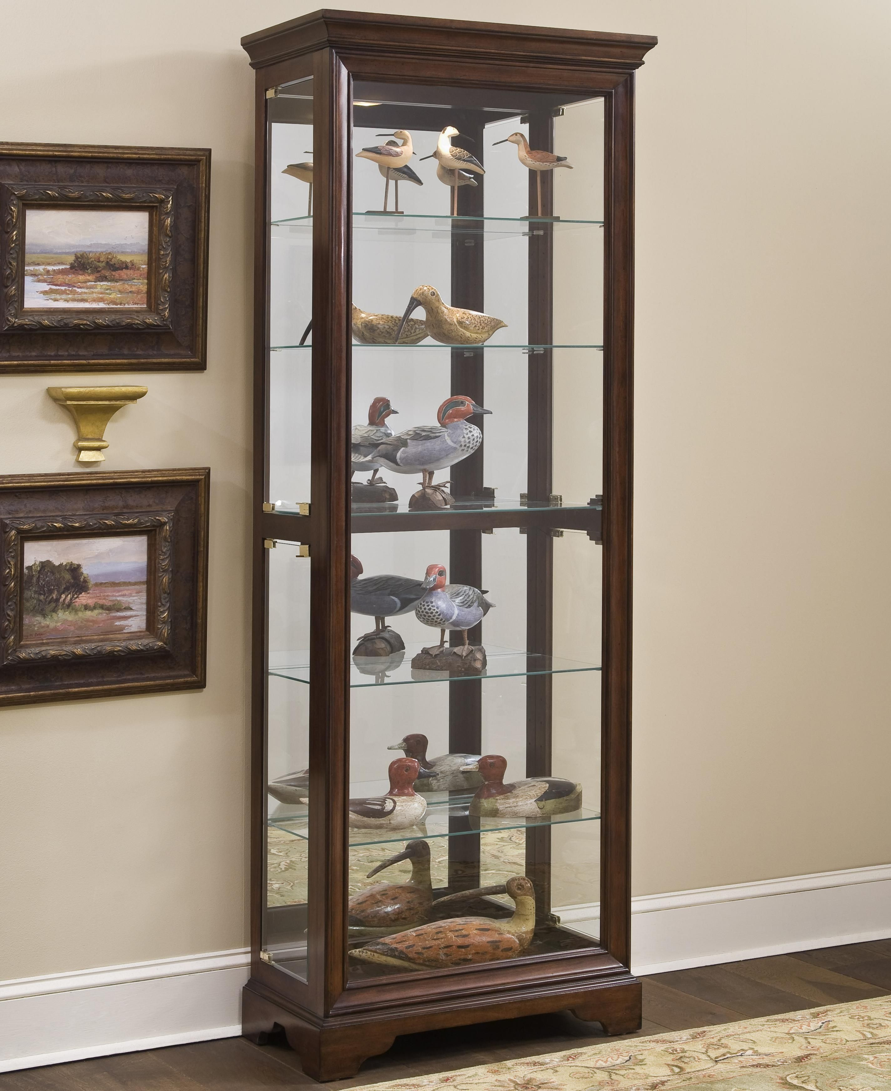 Curios Gallery Curio Cabinet By Pulaski Furniture Pulaski
