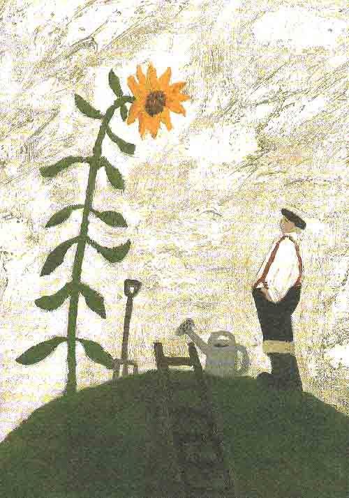 Citaten Hedendaagse Kunstenaars : Gary bunt secret garden postkaart art