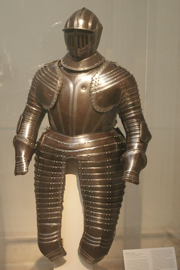If we were to make a medieval suit of armour today, how