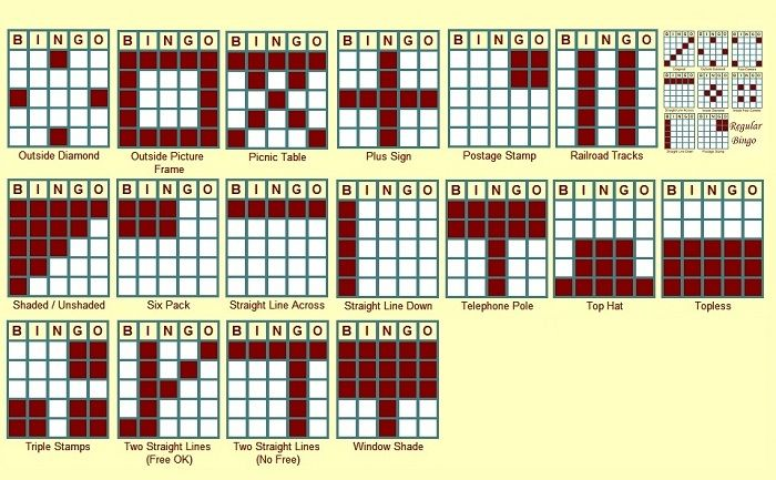 image about Printable Bingo Patterns referred to as Pre-programmed Bingo Rose designs Game titles Neighborhood