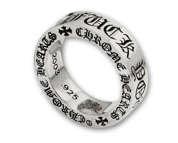 fc0a20a07b6 Chrome Hearts FK You Ring 6mm Interested  Then