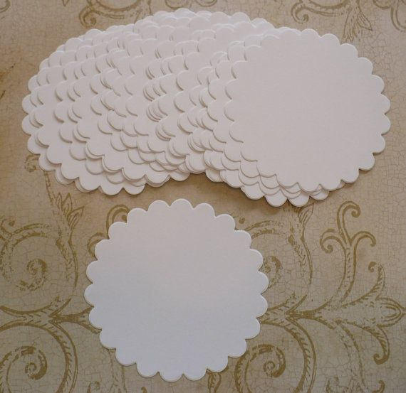 30 Sizzix Banners Die Cuts ~ White