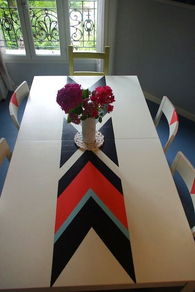 Relooking Dune Table Et Chaises Ikea
