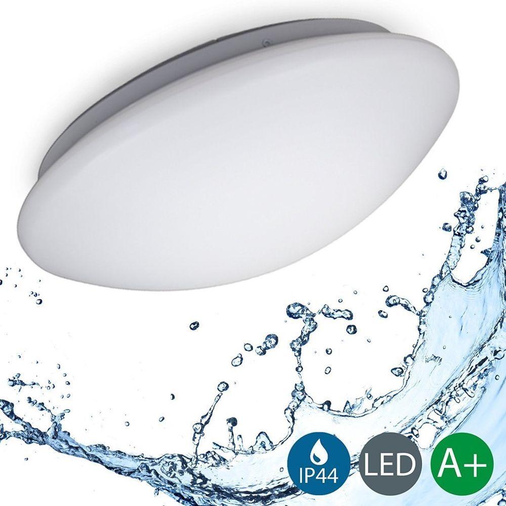 Details Zu Led Decken Leuchte Lampe Bad Ip44 Schlaf Wohn Zimmer