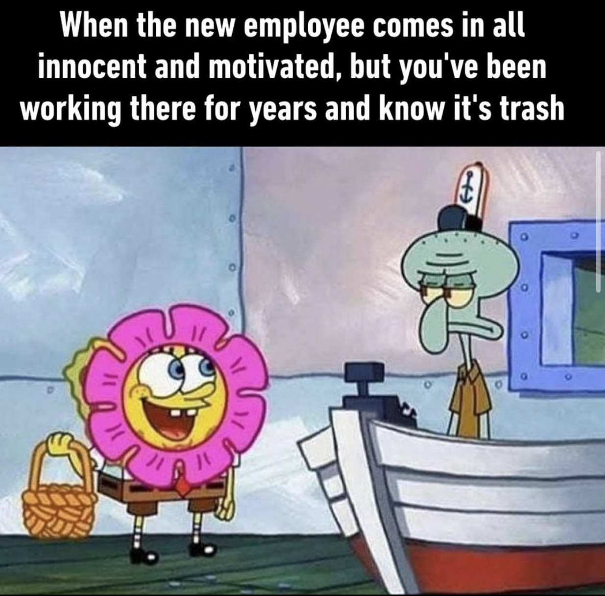 Lets Get This Bread Meme Squidward