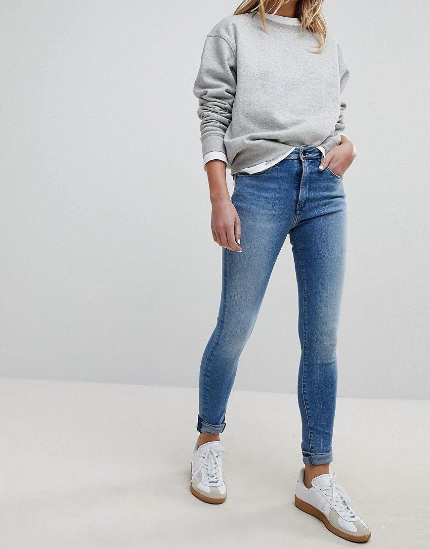 15f8d79f5dd Pepe Jeans Regent High Waist Skinny Jean - Blue