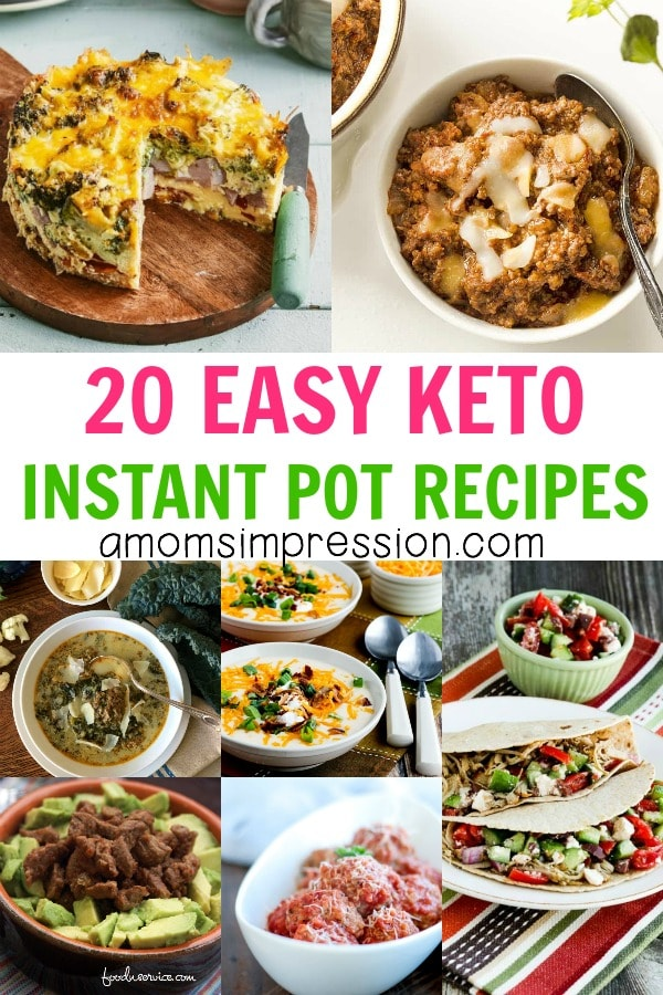 20 Easy Keto Instant Pot Recipes – A Mom's Impression