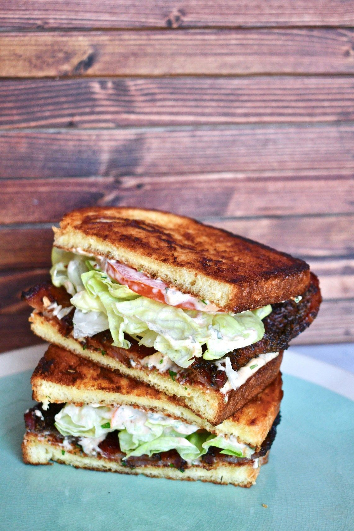 Blt Sandwiches And Easy Herb Mayo A Winning Combination Kendellkreations Blt Sandwich Sandwiches Cookbook Recipes