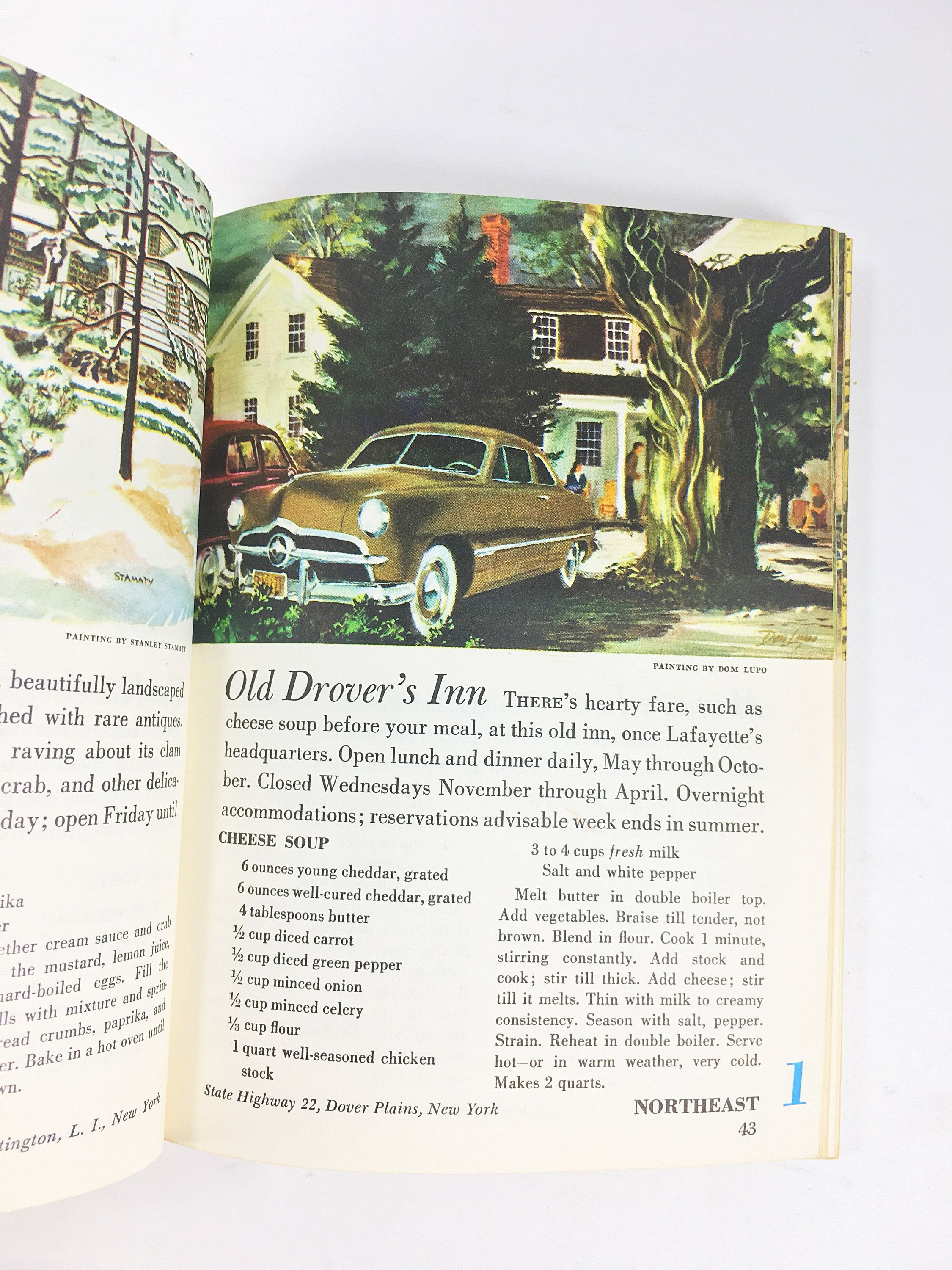 The Ford Treasury Of Favorite Recipes From Famous Eating Places Vintage Yellow Book Circa 1955 Iconic Restaurants Ford Motor Company Retro Recipes Favorite Favorite Recipes