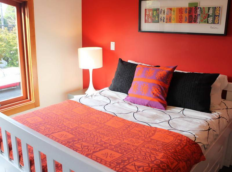 Red Bedroom Walls Perfect Color For With