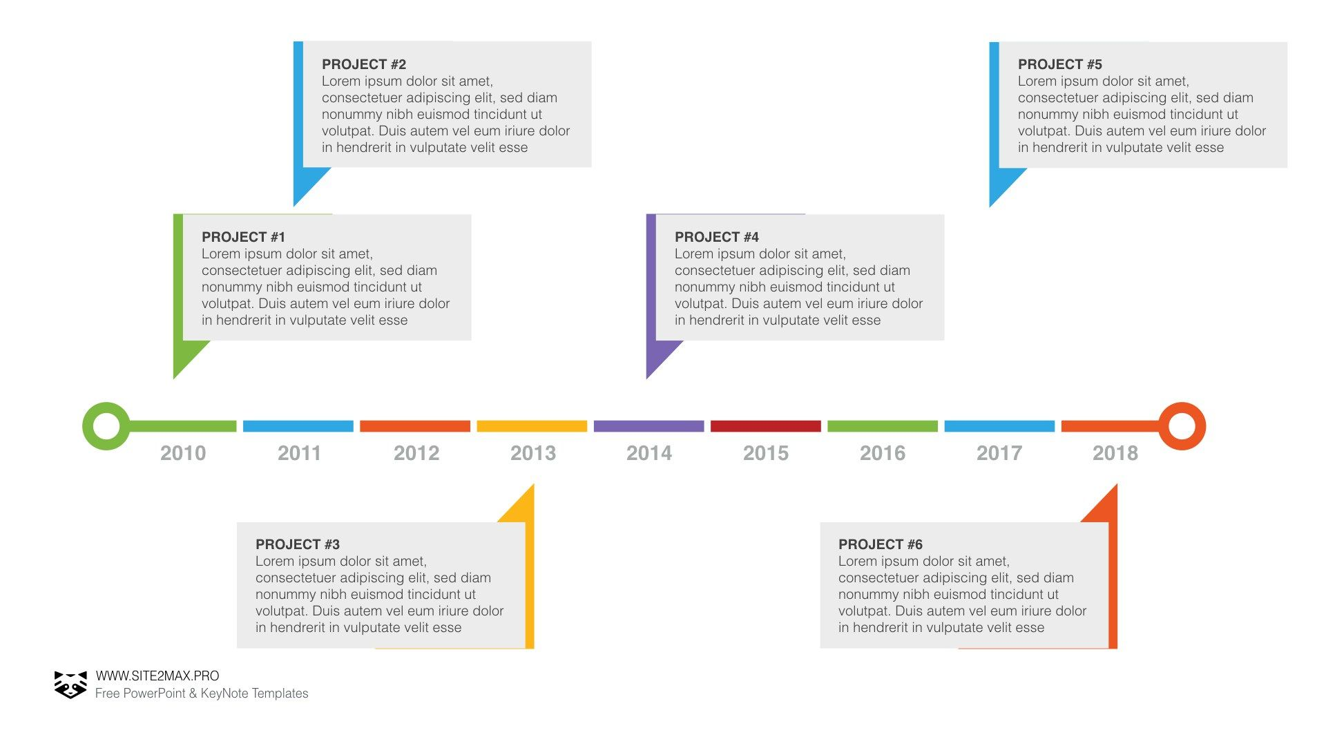 Timeline plan PPT | PowerPoint | Pinterest | Timeline, Template and ...