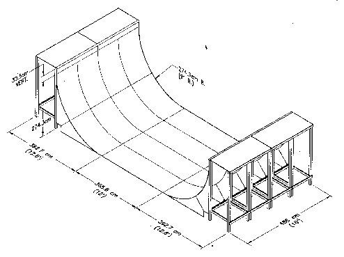 Half Pipe Plans  sc 1 st  Pinterest & Half Pipe Plans | Free Skateboard Ramp Plans | Pinterest | Pipes ...