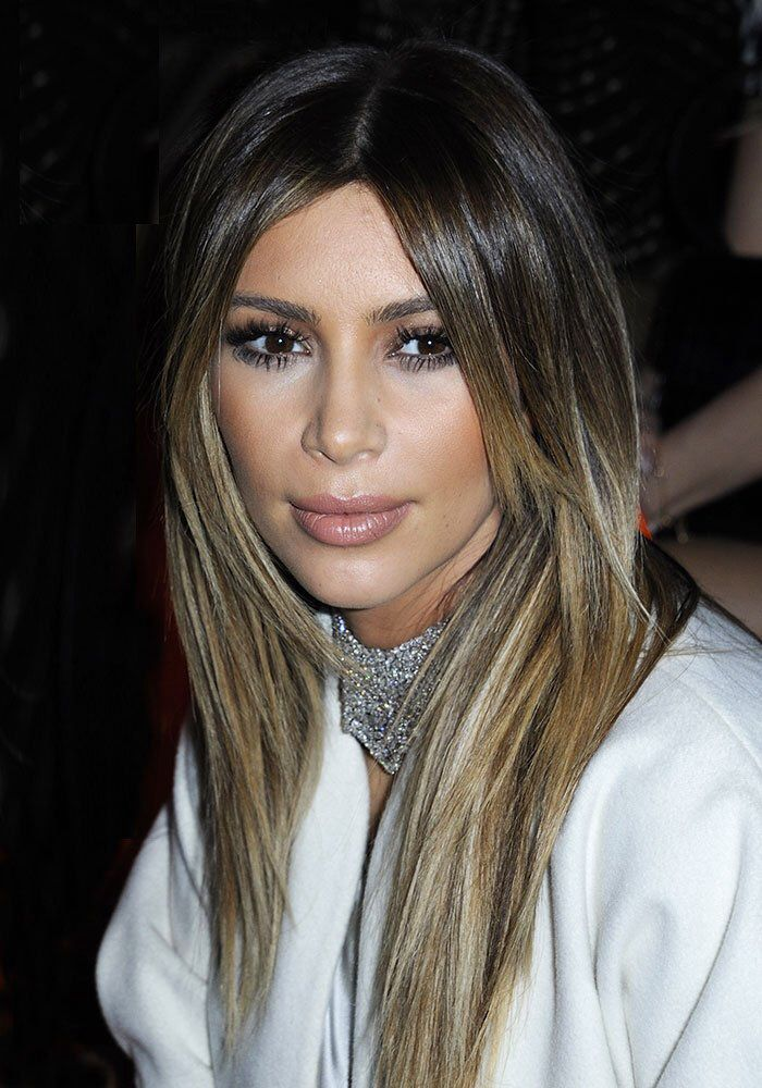 kim kardashian balayage ombr bronde hair hair pinterest kim kardashian le 21 et octobre. Black Bedroom Furniture Sets. Home Design Ideas