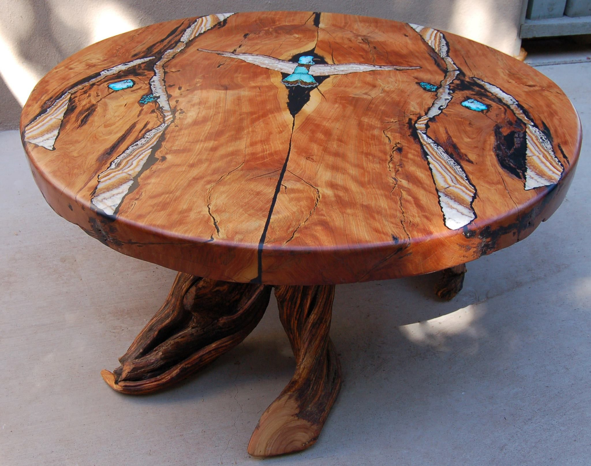 "Thunderbird"" coffee table by Andy & Aaron Sanchez near Santa Fe"